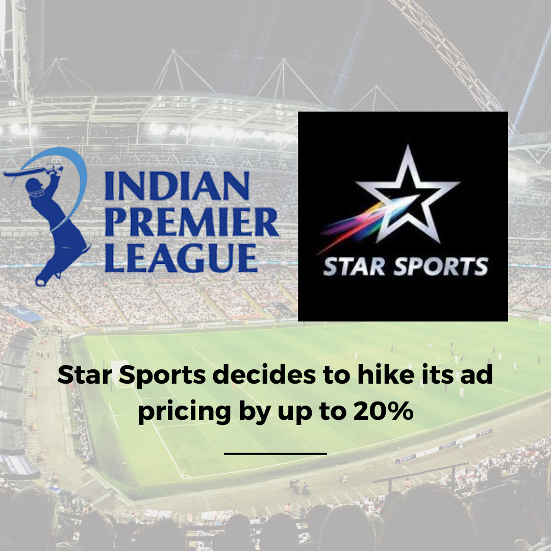 Star Sports decides to hike ad prices