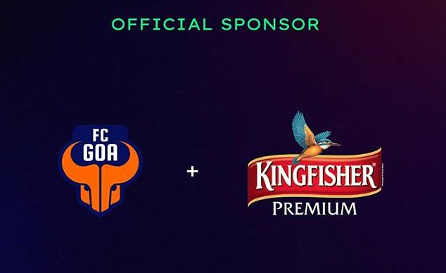 FC Goa KingFisher sponsor