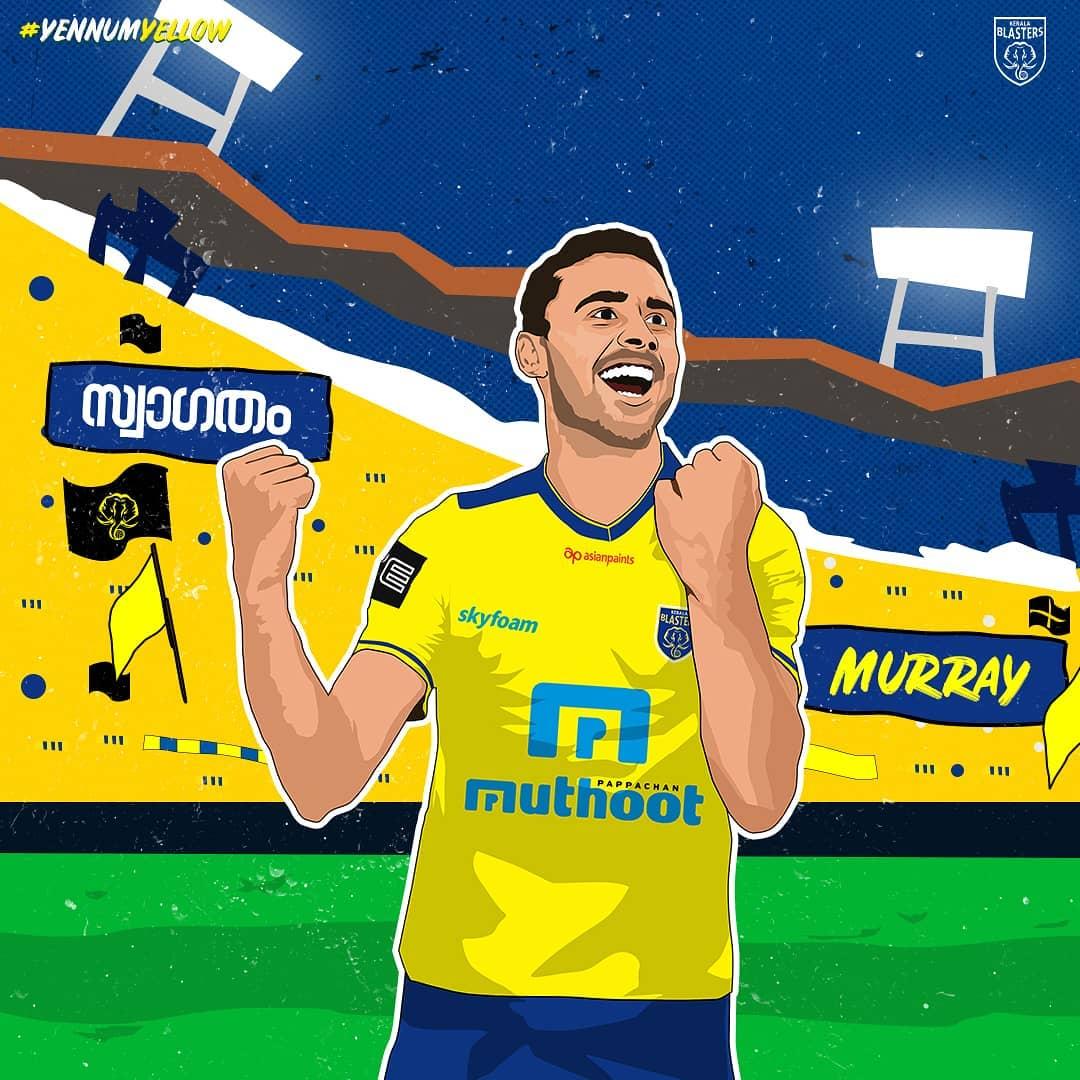 Kerala Blasters FC signs Murray