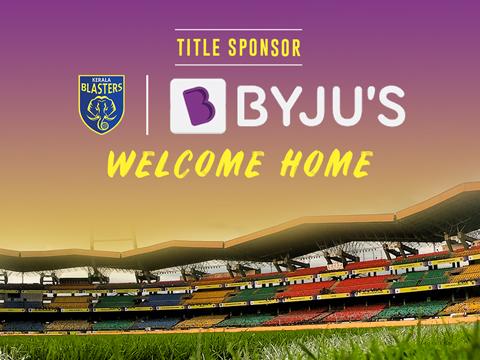 Kerala blasters Byjus Title Sponsor Indian Super League