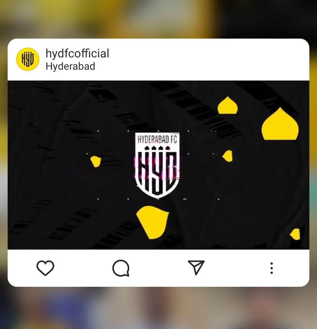 Official Kit partner - Hyderabad FC